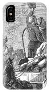 Texas Cattle Trail, 1874 IPhone Case