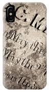 Tcm - C.c. Mason Grave IPhone Case