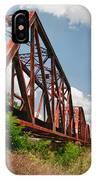 Texas Train Trestle 13984c IPhone Case