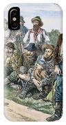 Texas Vigilantes, C1881 IPhone Case