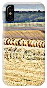 Textured Fields Of France IPhone Case