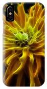 thank you Zinnia Flower IPhone Case