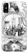 Thanksgiving, 1852 IPhone Case