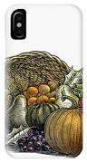 Thanksgiving: Cornucopia IPhone Case