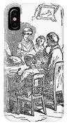 Thanksgiving Dinner, 1850 IPhone Case