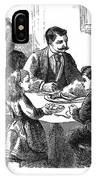 Thanksgiving Dinner, 1873 IPhone Case