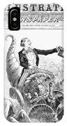 Thanksgiving Parade, 1887 IPhone Case