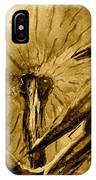That Which Lies Behind In Sepia IPhone Case