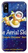 The Aerial Skier - Book Cover IPhone Case