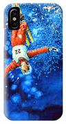 The Aerial Skier 20 IPhone Case
