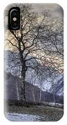 The Alps In Winter IPhone Case