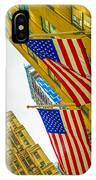 The American Flag IPhone Case