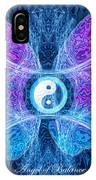 The Angel Of Balance IPhone Case