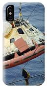 The Apollo 8 Capsule Being Hoisted IPhone Case