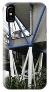 The Area Below The Capsules Of The Singapore Flyer IPhone Case
