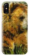 The Bear Painterly IPhone Case