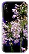 The Beauty Of Flowering Garlic IPhone Case