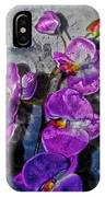 The Blue Orchid  IPhone Case