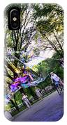 The Bubble Man Of Central Park IPhone Case