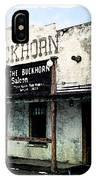 The Buckhorn Saloon IPhone Case