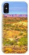 The Canyon In The Distance IPhone Case