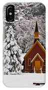 The Chapel IPhone Case