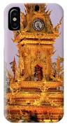 The Chiang Rai Clock Tower  IPhone Case