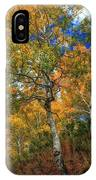 The Colors Of The Aspen Forest IPhone Case