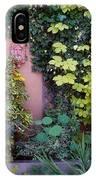 The Courtyard Garden, Fairfield Lodge IPhone Case
