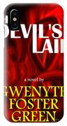 The Devil's Lair Book Cover IPhone Case