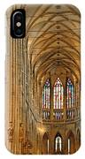 The Enormous Interior Of St. Vitus Cathedral Prague IPhone Case