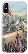 The Fall Of Petersburg To The Union Army 2nd April 1965 IPhone Case