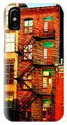 The Fire Escape IPhone Case