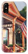 The Founders Home IPhone Case