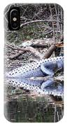 The Gator That Lives Under The Bridge IPhone Case