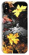 The Golden Leaves IPhone Case
