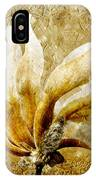 The Golden Magnolia IPhone Case