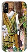 The Good Shephard At The Door IPhone Case