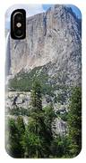 The Grandeur Of Yosemite Falls IPhone Case