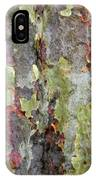 The Green Bark Of A Tree IPhone Case