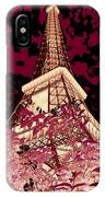 The Heart Of Paris - Digital Painting IPhone Case