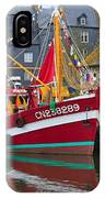 The Historic Fishing Village Of Honfleur IPhone Case