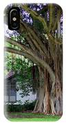 The House Beside The Banyan Tree IPhone Case