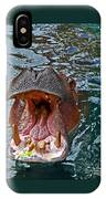 The Hungry Hippo IPhone Case