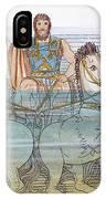 The Iliad: Neptune, 1805 IPhone Case