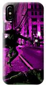 the Joker about to Pounce IPhone Case