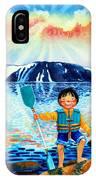 The Kayak Racer 5 IPhone Case