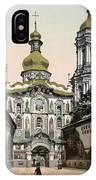The Lavra Gate - Kiev - Ukraine - Ca 1900 IPhone Case