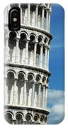The Leaning Tower Of Pisa Italy IPhone Case