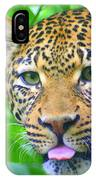 The Leopard's Tongue IPhone Case